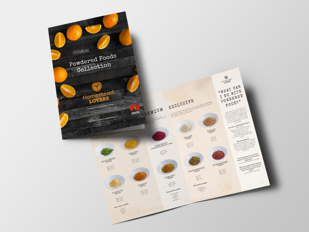 Homestead Lovers Catalogue | Graphic Design Adelaide